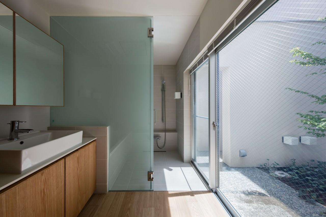 バス/トイレ事例:バスルーム(井の頭の家)