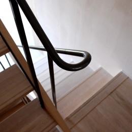 加納の家 (階段手摺)
