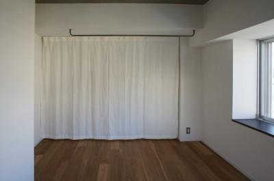 寝室・収納 (高槻のマンションリフォーム)