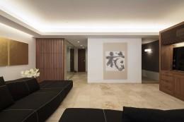 大崎の家 (リビング)
