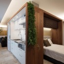 大崎の家の写真 ベッドルーム キッチン