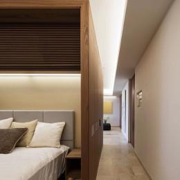 大崎の家 (寝室)