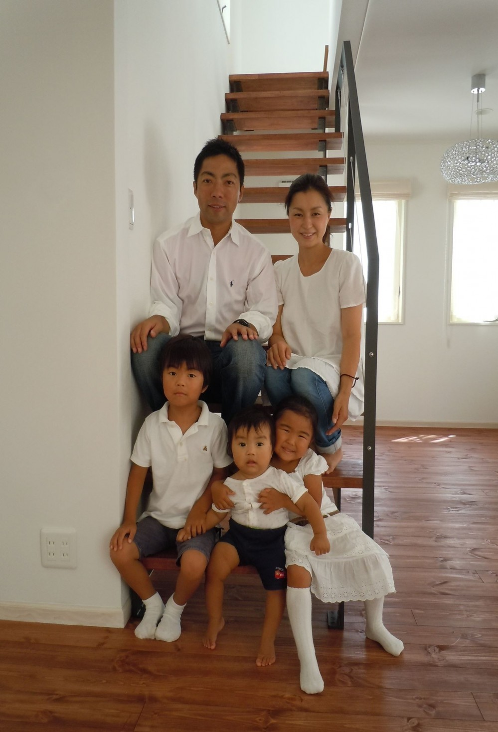 白の家ー家族が集う家、カナダの思い出 (M様ご家族)