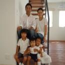 エス・デザイン一級建築士事務所の住宅事例「白の家ー家族が集う家、カナダの思い出」