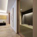 大崎の家の写真 リビングから和室