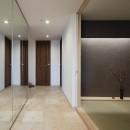 大崎の家の写真 エントランス