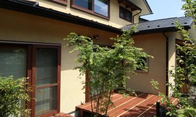 家事が楽な和みの木の家