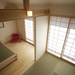 ゼロエネの木の家 (和室とベッドルーム)