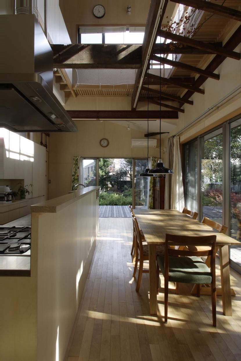 築40年 木造戸建住宅のフルリノベーションの部屋 ダイニング