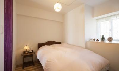風通しと機能性を兼ねたウォークスルークローゼットで暮らしを変えたリノベーション (寝室)