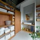 SCHOOL BUS|スクールバス空間設計の住宅事例「我が家が遊び場-PLAYGROUND-」