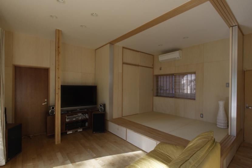 築40年 木造戸建住宅のフルリノベーションの部屋 タタミコーナー