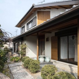 愛でる家|数寄屋風戸建て住宅のリノベーション【奈良市】