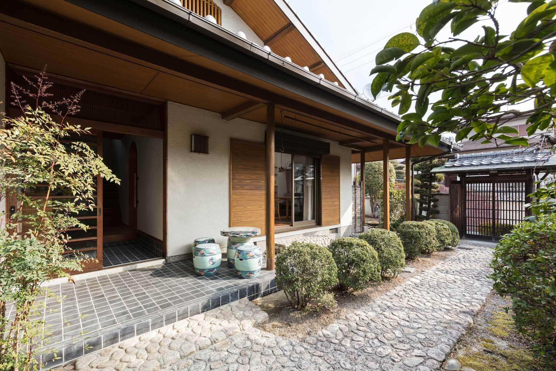 外観事例:外観(愛でる家|数寄屋風戸建て住宅のリノベーション【奈良市】)