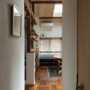 愛でる家|数寄屋風戸建て住宅のリノベーション【奈良市】の写真 居間