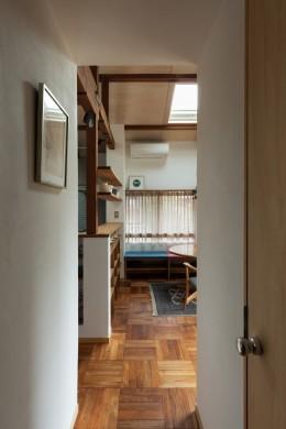 愛でる家|数寄屋風戸建て住宅のリノベーション【奈良市】 (居間)