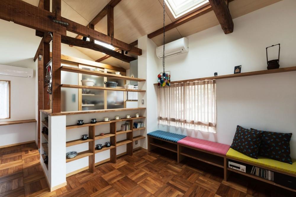 居間 (愛でる家|数寄屋風戸建て住宅のリノベーション【奈良市】)