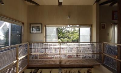 築40年 木造戸建住宅のフルリノベーション (キャットウォーク)