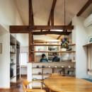 愛でる家|数寄屋風戸建て住宅のリノベーション【奈良市】の写真 キッチン