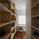 愛でる家|数寄屋風戸建て住宅のリノベーション【奈良市】の写真 スタディ・コーナー