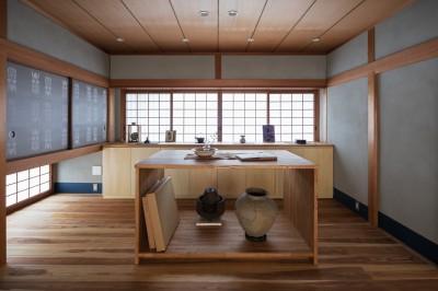 ギャラリー (愛でる家|数寄屋風戸建て住宅のリノベーション【奈良市】)
