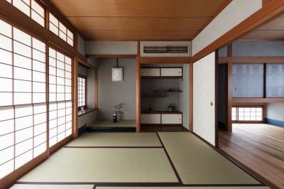 和室 (愛でる家|数寄屋風戸建て住宅のリノベーション【奈良市】)