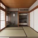 愛でる家|数寄屋風戸建て住宅のリノベーション【奈良市】の写真 和室