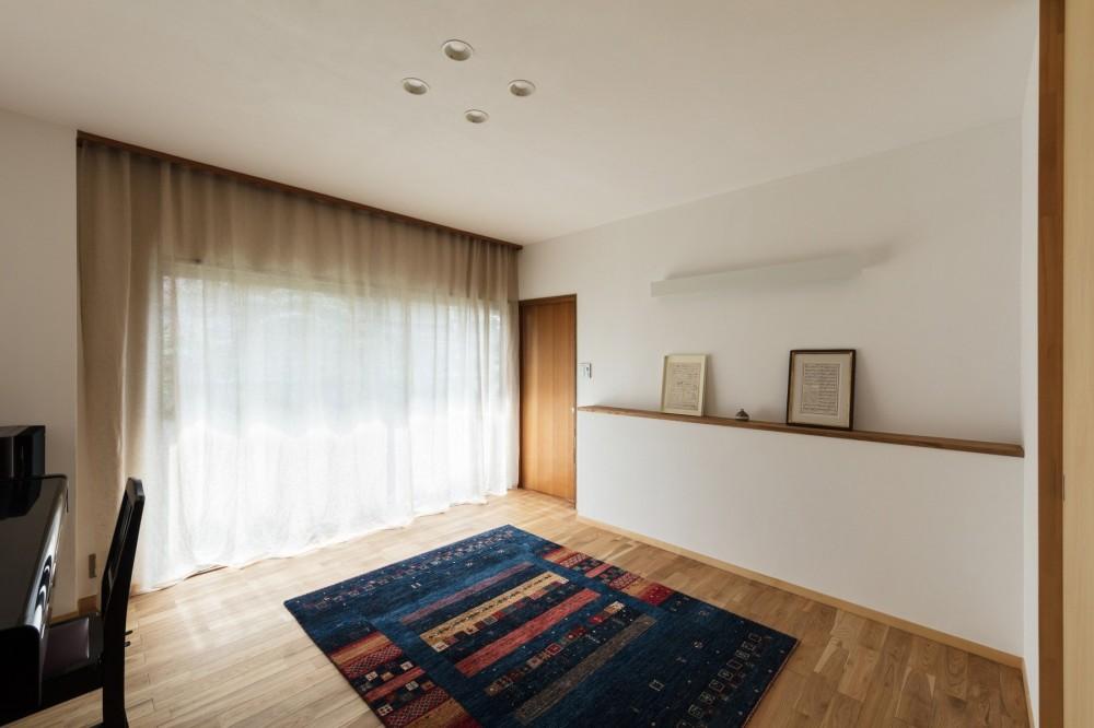 愛でる家|数寄屋風戸建て住宅のリノベーション【奈良市】 (応接室)
