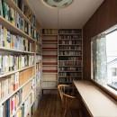 愛でる家|数寄屋風戸建て住宅のリノベーション【奈良市】の写真 書斎
