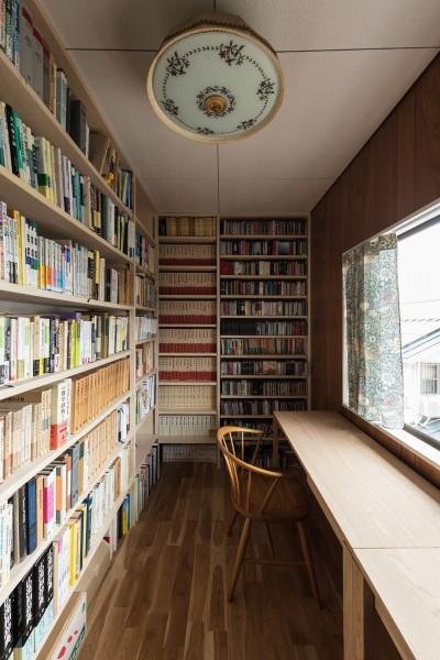 書斎 (愛でる家|数寄屋風戸建て住宅のリノベーション【奈良市】)