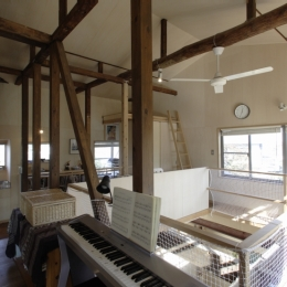 築40年 木造戸建住宅のフルリノベーション (子ども部屋)