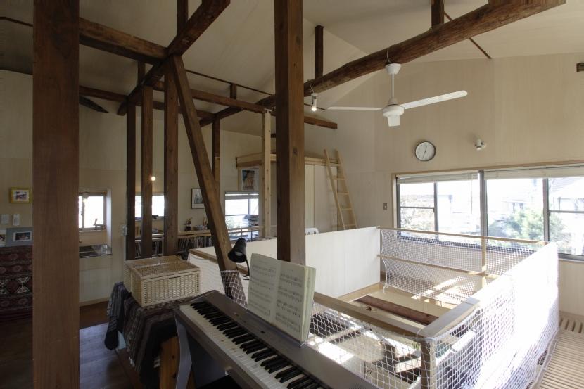 築40年 木造戸建住宅のフルリノベーションの部屋 子ども部屋