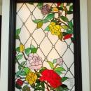 ステンドグラス工房 サンプラン制作の住宅事例「薔薇のステンドグラス」