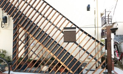外部階段を新設|G阿佐ヶ谷