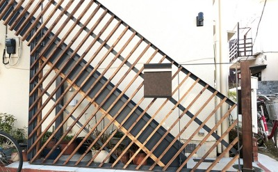外部階段を新設 (G阿佐ヶ谷)