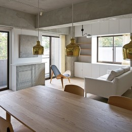 ギャラリーに暮らす家 House living in the Gallery-ギャラリーに暮らす家 PHOTO by Masaya Yoshimura, Copist