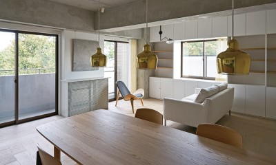 ギャラリーに暮らす家 PHOTO by Masaya Yoshimura, Copist|ギャラリーに暮らす家 House living in the Gallery