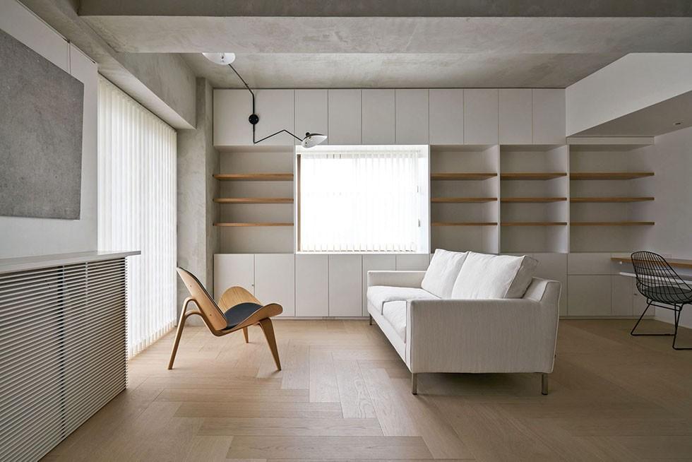 ギャラリーに暮らす家 House living in the Gallery (ギャラリーに暮らす家 PHOTO by Masaya Yoshimura, Copist)