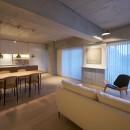ギャラリーに暮らす家 House living in the Galleryの写真 ギャラリーに暮らす家 PHOTO by Masaya Yoshimura, Copist