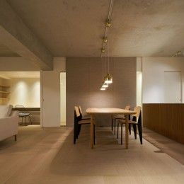 ギャラリーに暮らす家 House living in the Gallery (ギャラリーに暮らす家 PHOTO by Masaya Yoshimura, Copist)