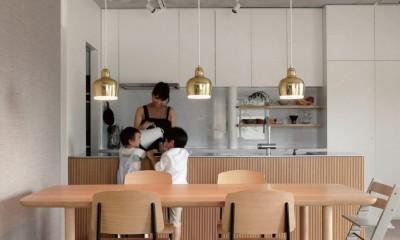 ギャラリーに暮らす家 PHOTO by Takuya Furuse|ギャラリーに暮らす家 House living in the Gallery
