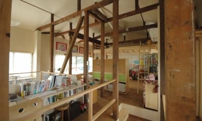 築40年 木造戸建住宅のフルリノベーション (子どものスペース)