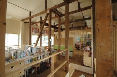 子どものスペース (築40年 木造戸建住宅のフルリノベーション)