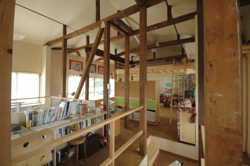 築40年 木造戸建住宅のフルリノベーションの部屋 子どものスペース