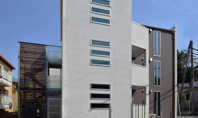 土地有効活用・デザイナーズ3階建て木造共同住宅