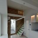 土地有効活用・デザイナーズ3階建て木造共同住宅の写真 ロフト付き賃貸住戸