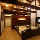 母屋と蔵を改装し三世代古民家への写真 寝室