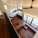haus-agit/人里離れた眺めの良い場所に佇む爽快なアジトの写真 廊下