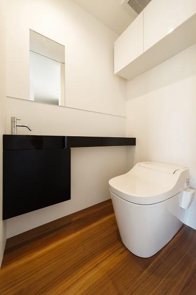 トイレ (haus-agit/人里離れた眺めの良い場所に佇む爽快なアジト)