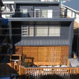 M邸ー終の住処として二つの庭を持つコートハウス